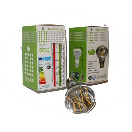LAMPADINA R63 - 4W - E27 - LUCE CALDA - 2700 K