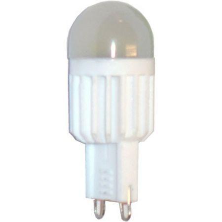 LAMPADINA LED G9 - CERAMICA - 3.5 W - LUCE CALDA - 220 V - 255 LM