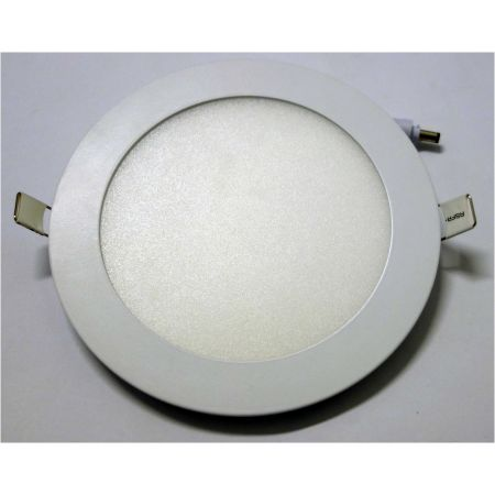 Pannello Led slim 172mm potenza 12 Watt luce naturale