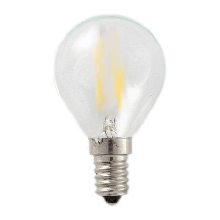 LAMPADINA MINI GLOBO 3W SATINATA