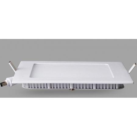 Pannello Led slim quadrato12 Watt luce naturale
