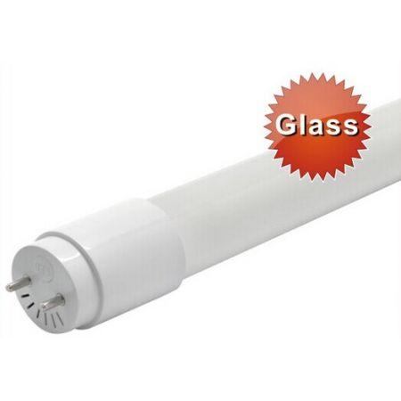 TUBO LED 600mm 100% VETRO LUCE CALDA