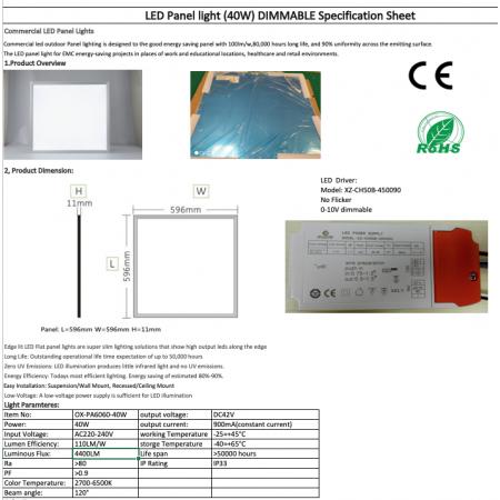 OX-PA6060-40W